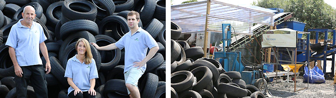 Tyre Recycling and Disposal