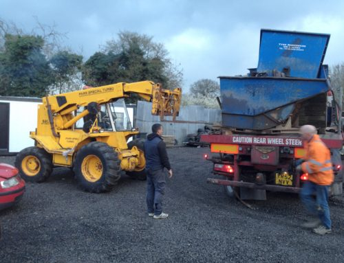 Setting up the New Recycling site